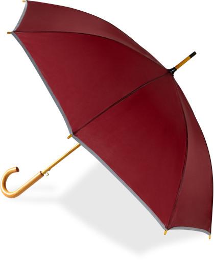 Relatiegeschenk Paraplu met reflecterende rand bedrukken