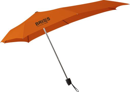 Relatiegeschenk Senz Smart S opvouwbare stormparaplu bedrukken