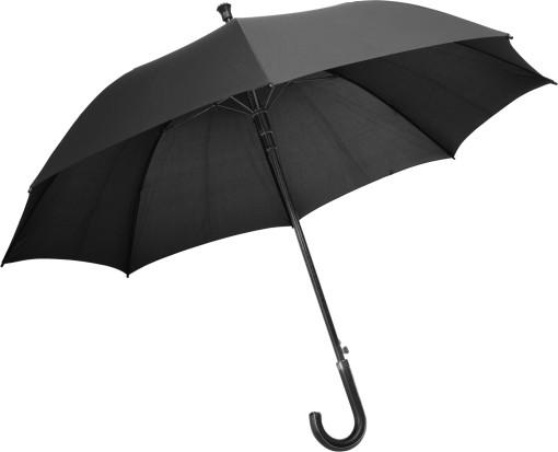 Relatiegeschenk Charles Dickens paraplu/wandelstok bedrukken