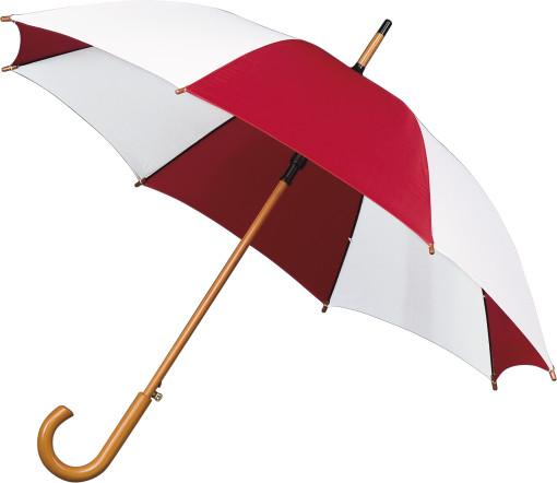 Relatiegeschenk Paraplu met houten stok bedrukken